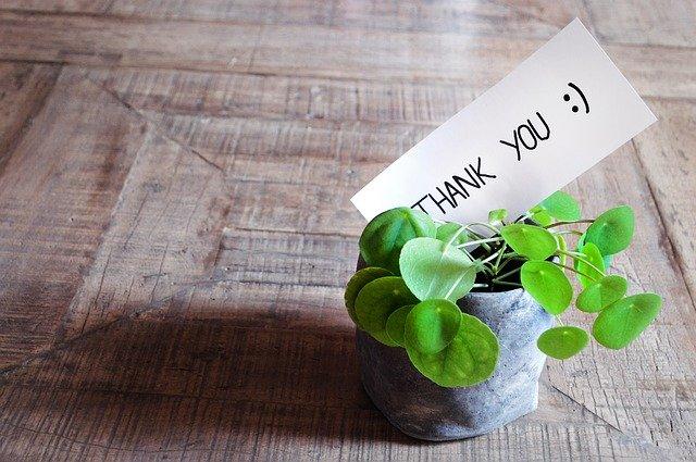 poděkování